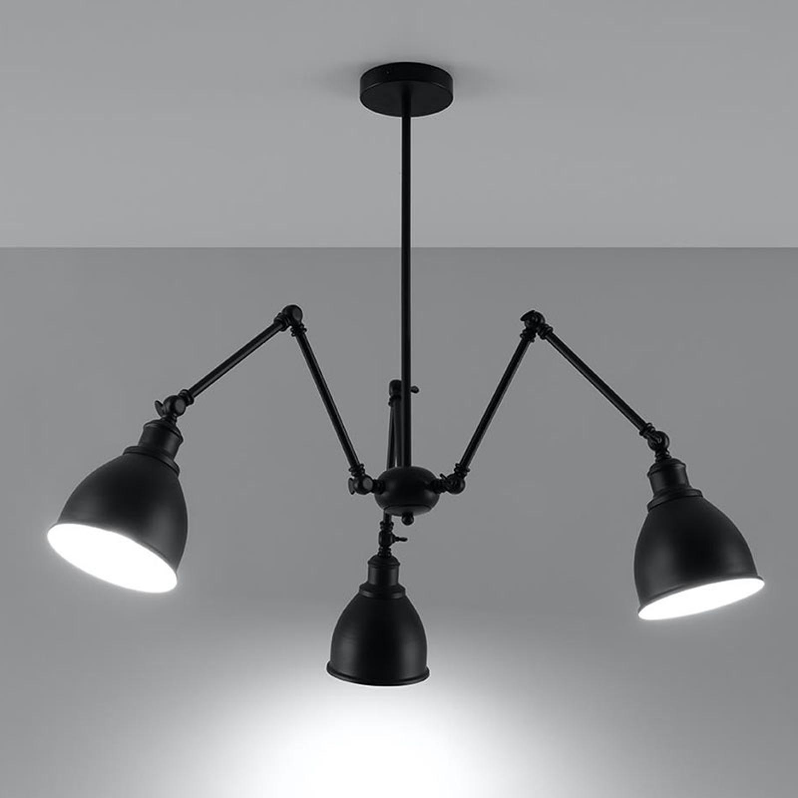 Loki hængelampe med flere led, 3 lyskilder