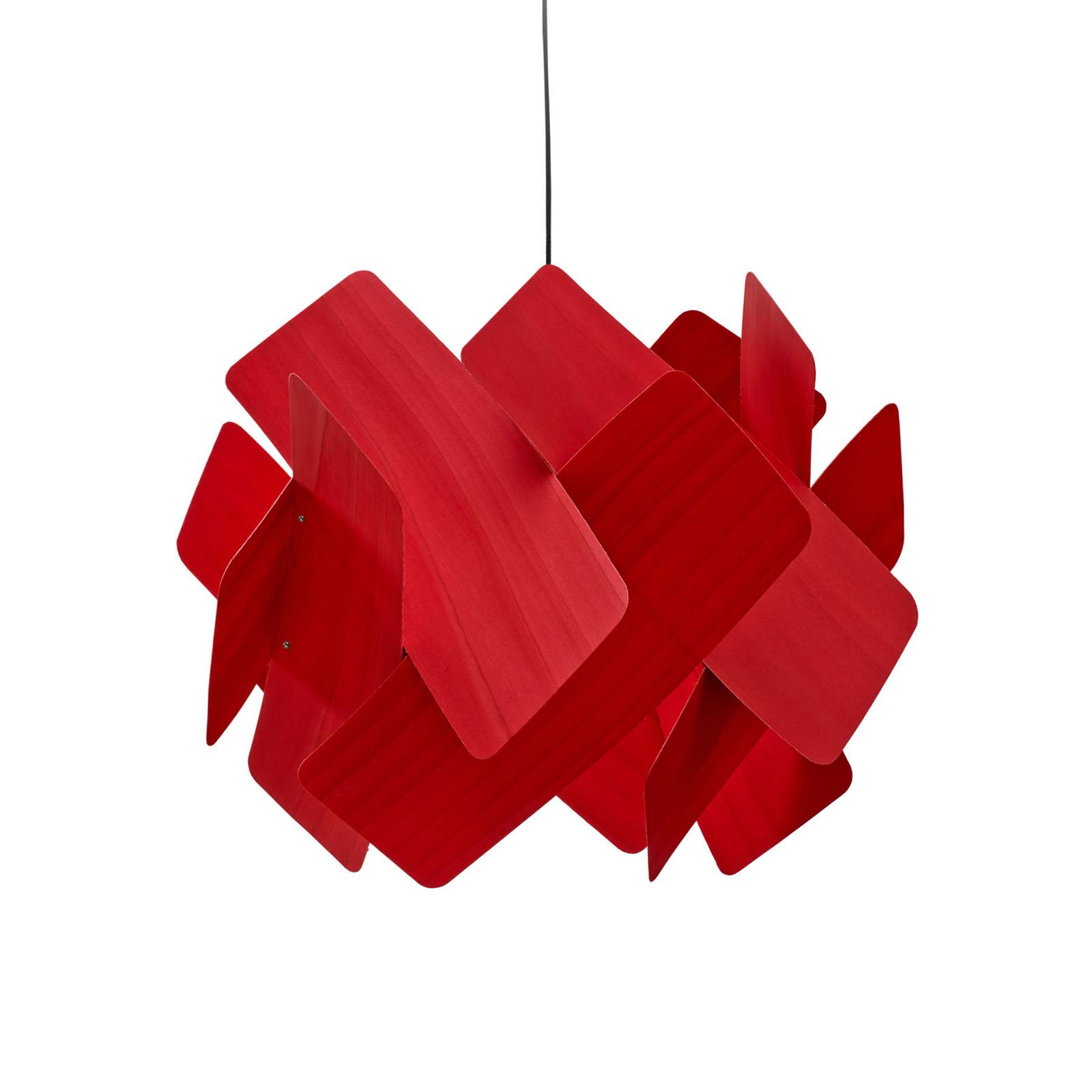LZF Escape Hängeleuchte, Ø 52 cm, rot