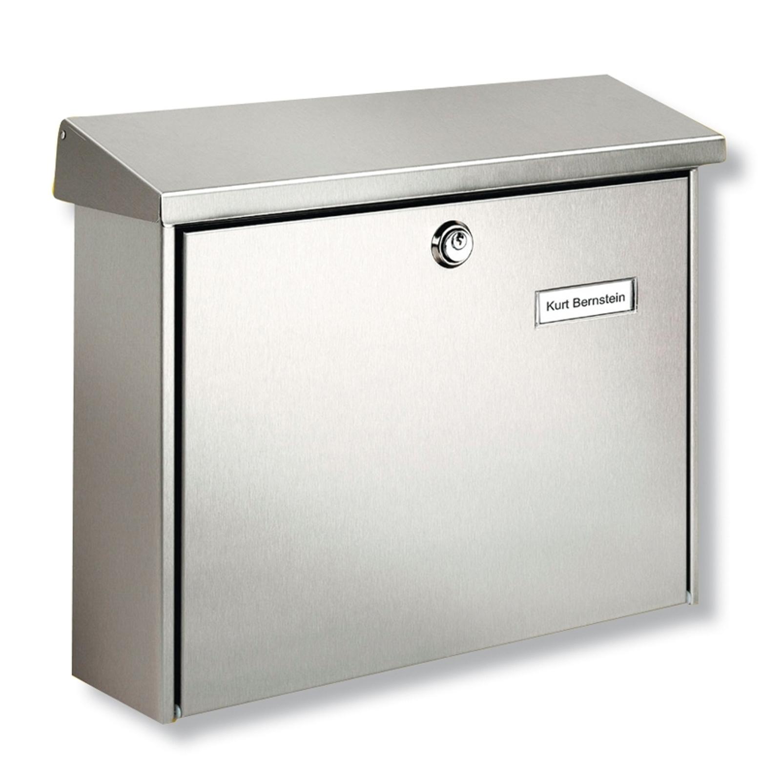 Amrum nerezová poštovní schránka s ochranným lakem