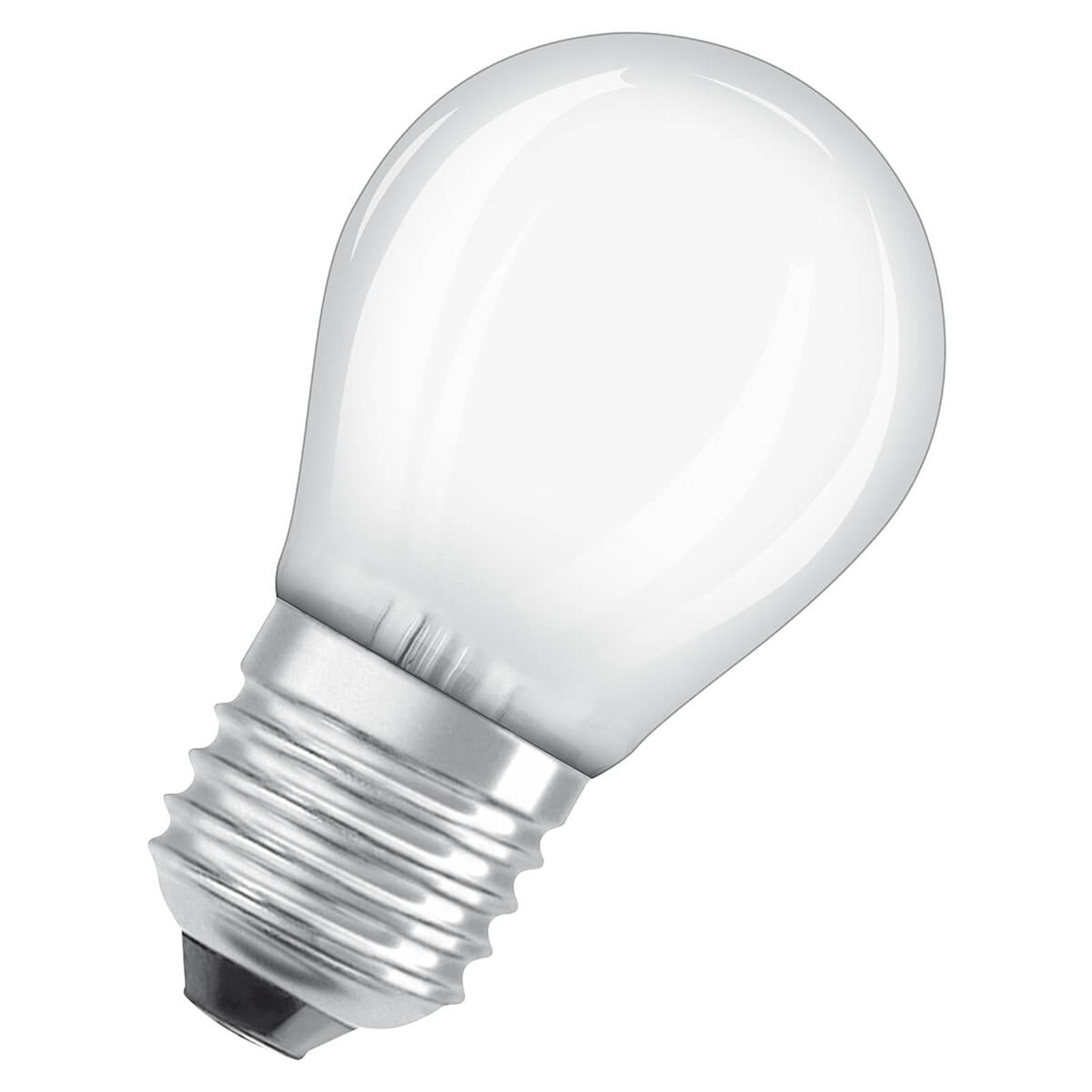 OSRAM LED-dråpepære E27 2,8 W 827 dimbar