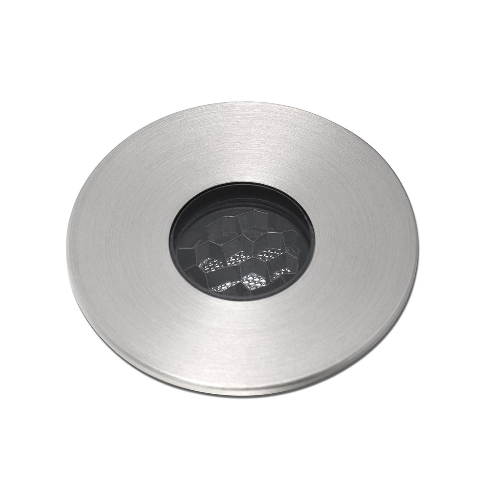 Spot encastré LED Sol anti eau de mer Ø 3,5cm