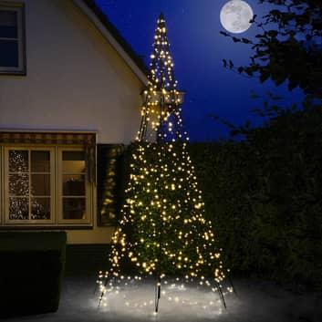 Fairybell® juletræ med midterstang, 4 m