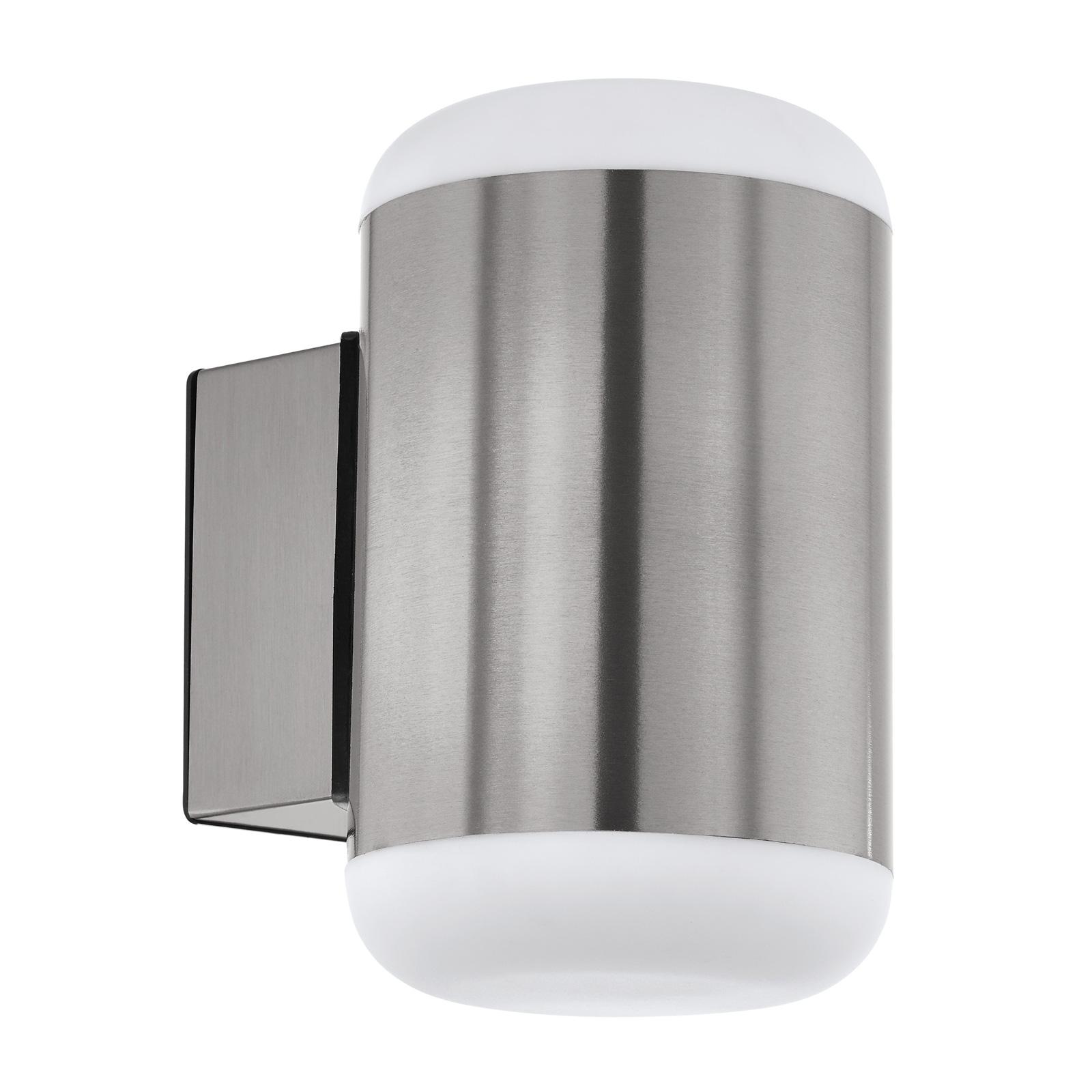 Buitenwandlamp Merlito van roestvrij staal