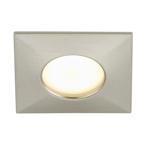 Foco empotrable LED Till, níquel mate