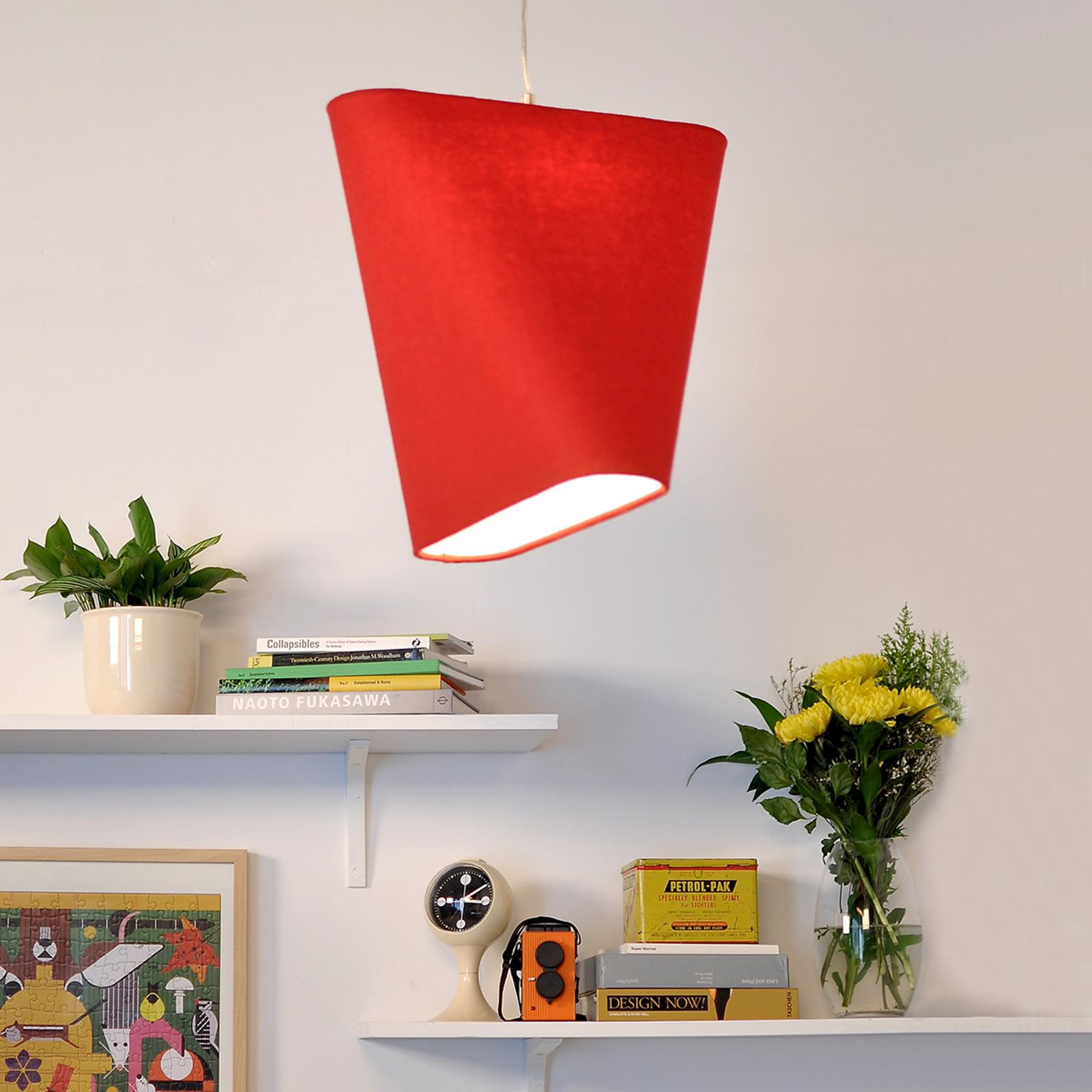 Produktové foto Innermost Innermost MnM 40 textilní závěsné světlo, červené