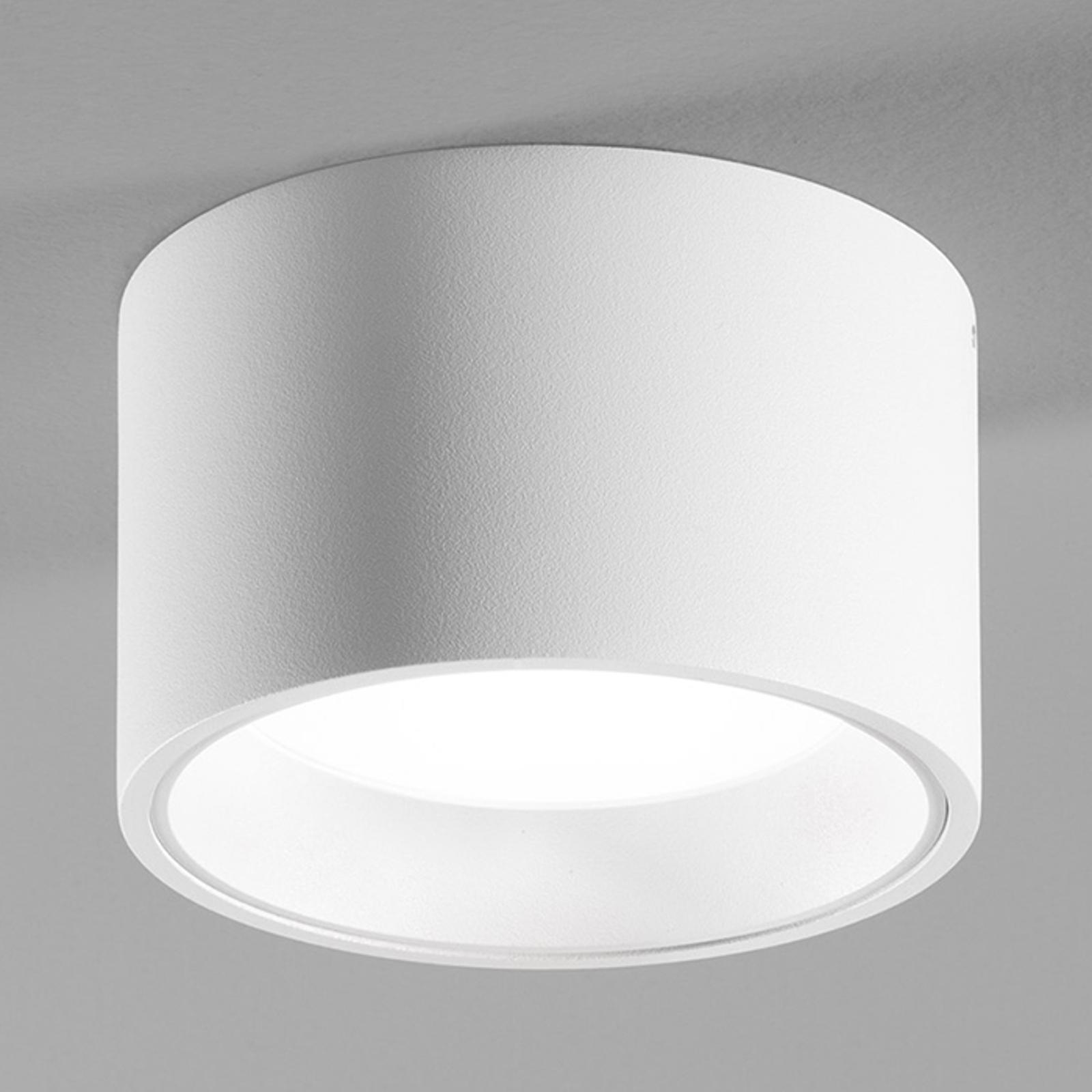 Biała lampa sufitowa LED Ringo z IP54