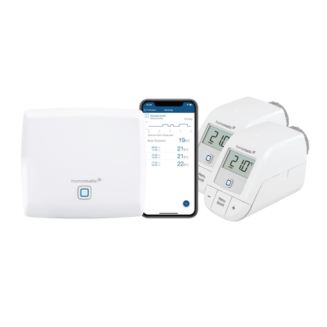 Homematic IP set riscaldamento BILD-Edition