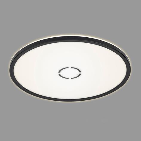 Plafonnier LED Free, Ø 42cm, noir