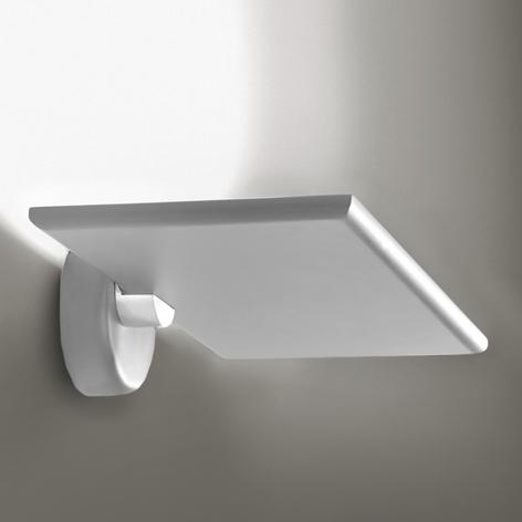 Lampa LED oświetlająca ścianę GiuUp, biała