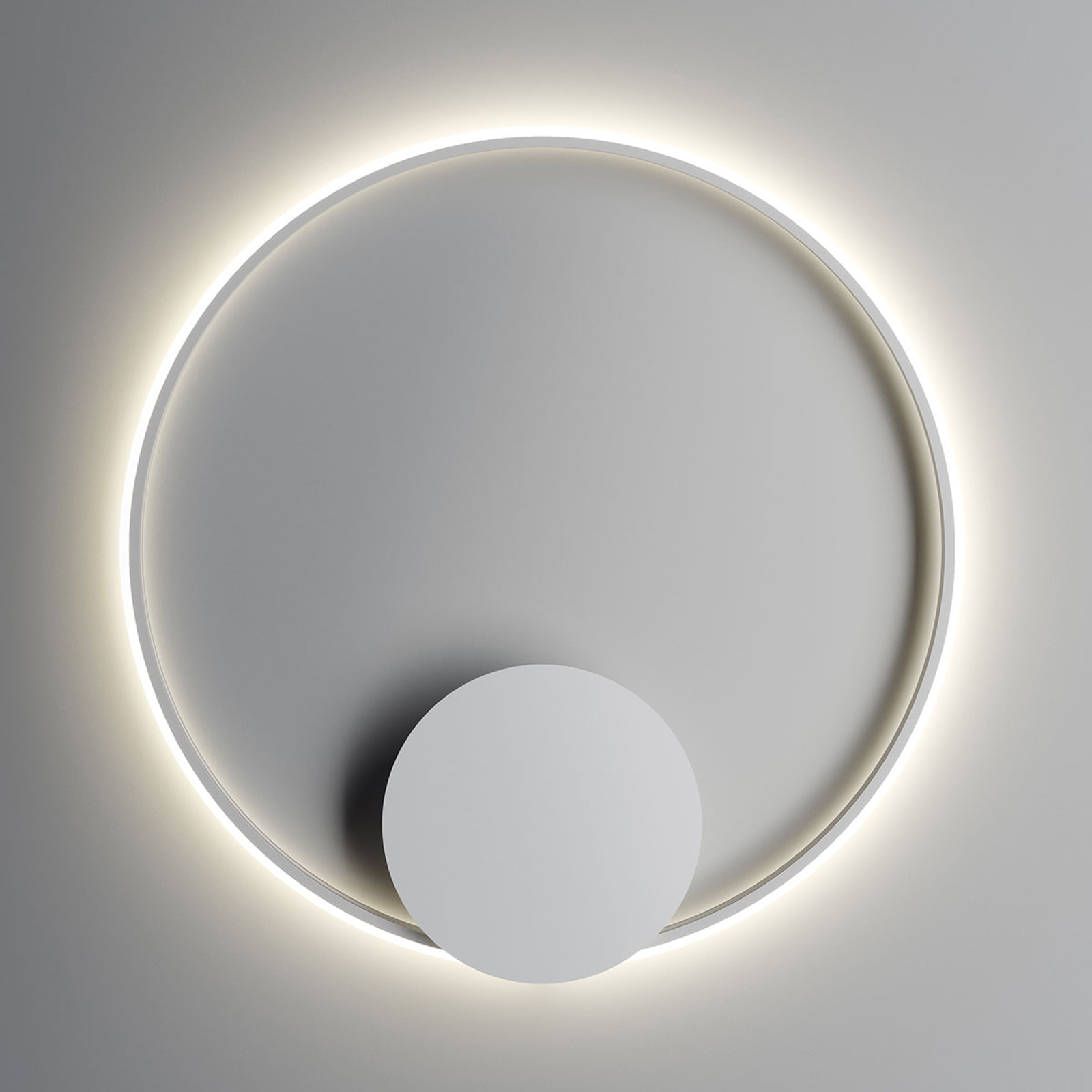 Fabbian Olympic applique LED Ø 80cm blanc