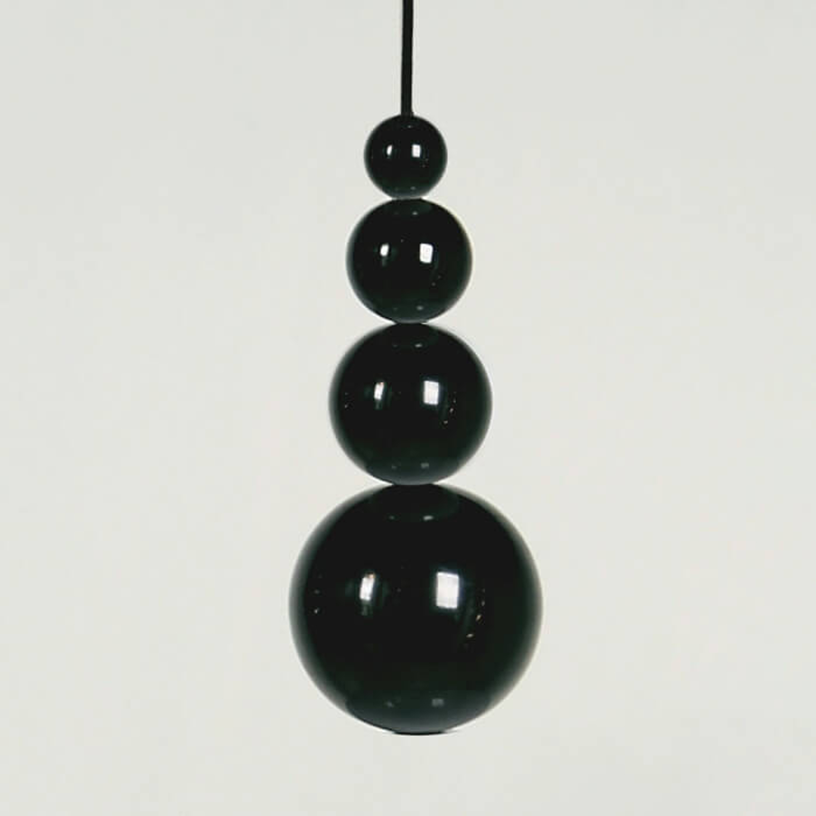 Innermost Bubble - hængelampe i sort