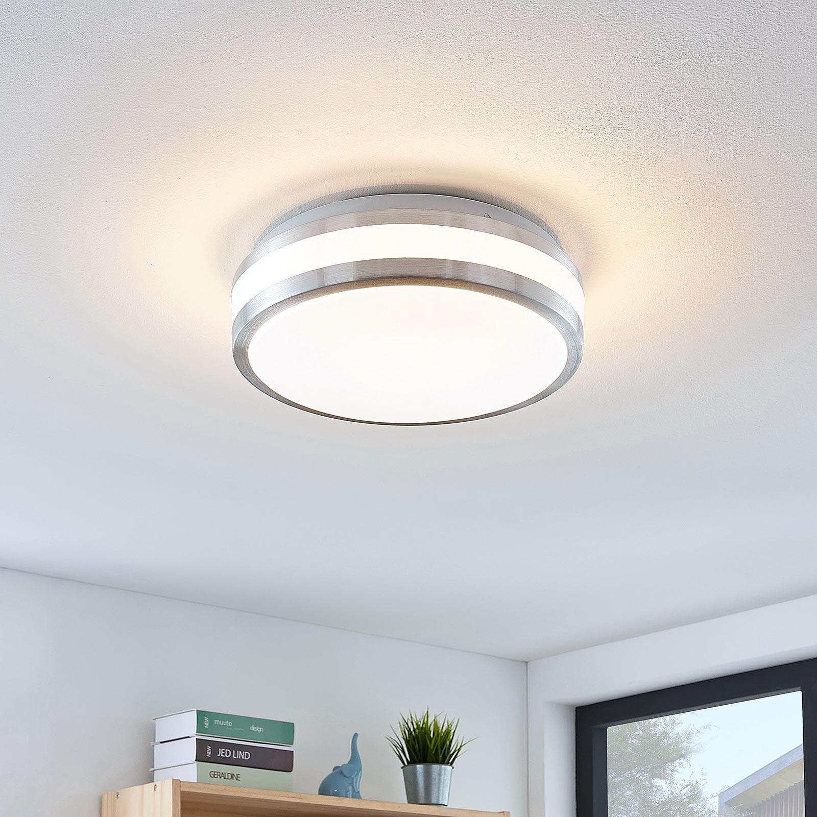 Lindby Nelia LED-Alu-Deckenlampe, rund, 29 cm