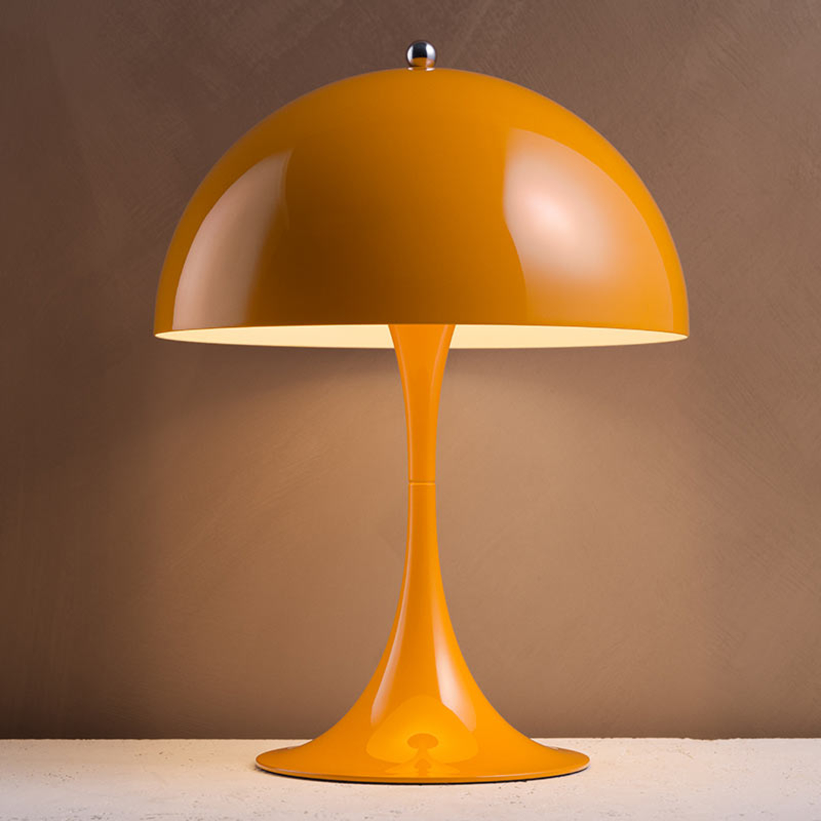 Louis Poulsen Panthella Mini Tischlampe orange