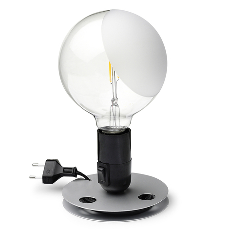 FLOS Lampadina lampe à poser LED, noire