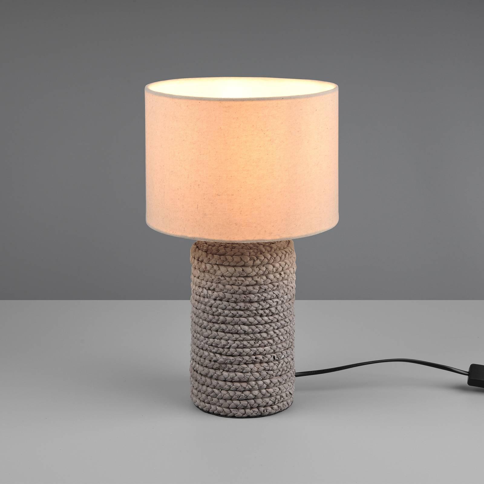 Tischleuchte Mala aus Keramik, Ø 22 cm