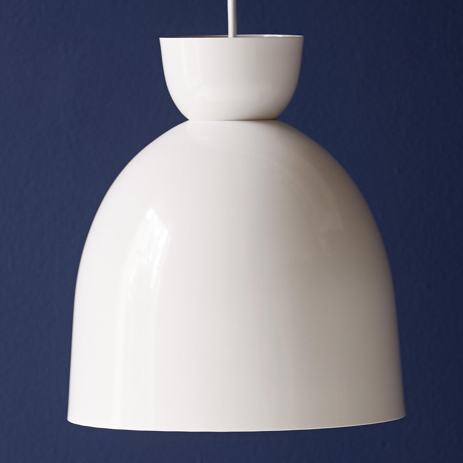 Circus - lampa wisząca Ø 27 cm biała