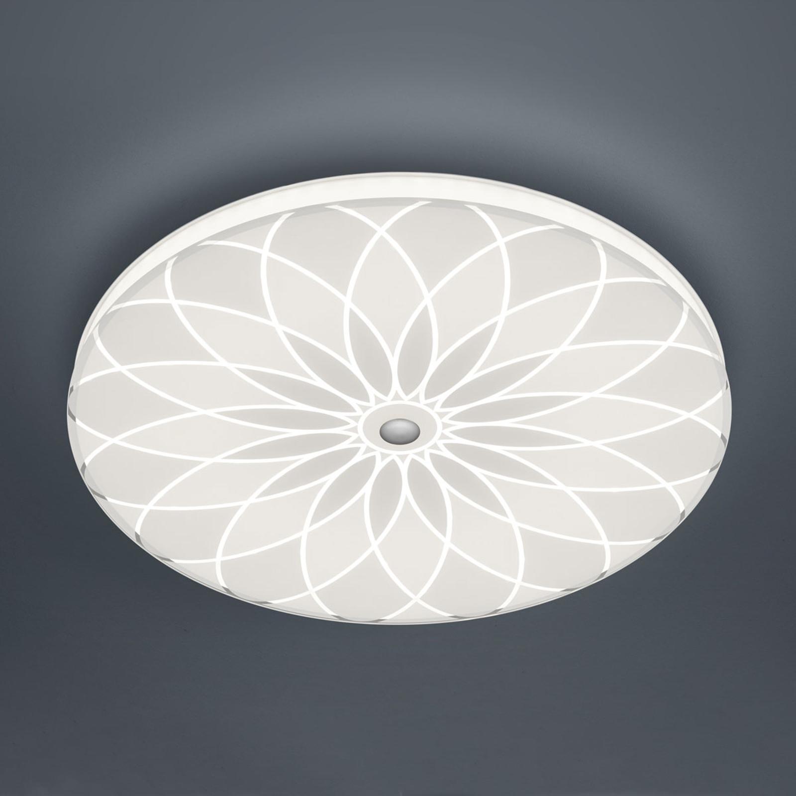 BANKAMP Mandala lampa sufitowa LED kwiat, Ø 52 cm