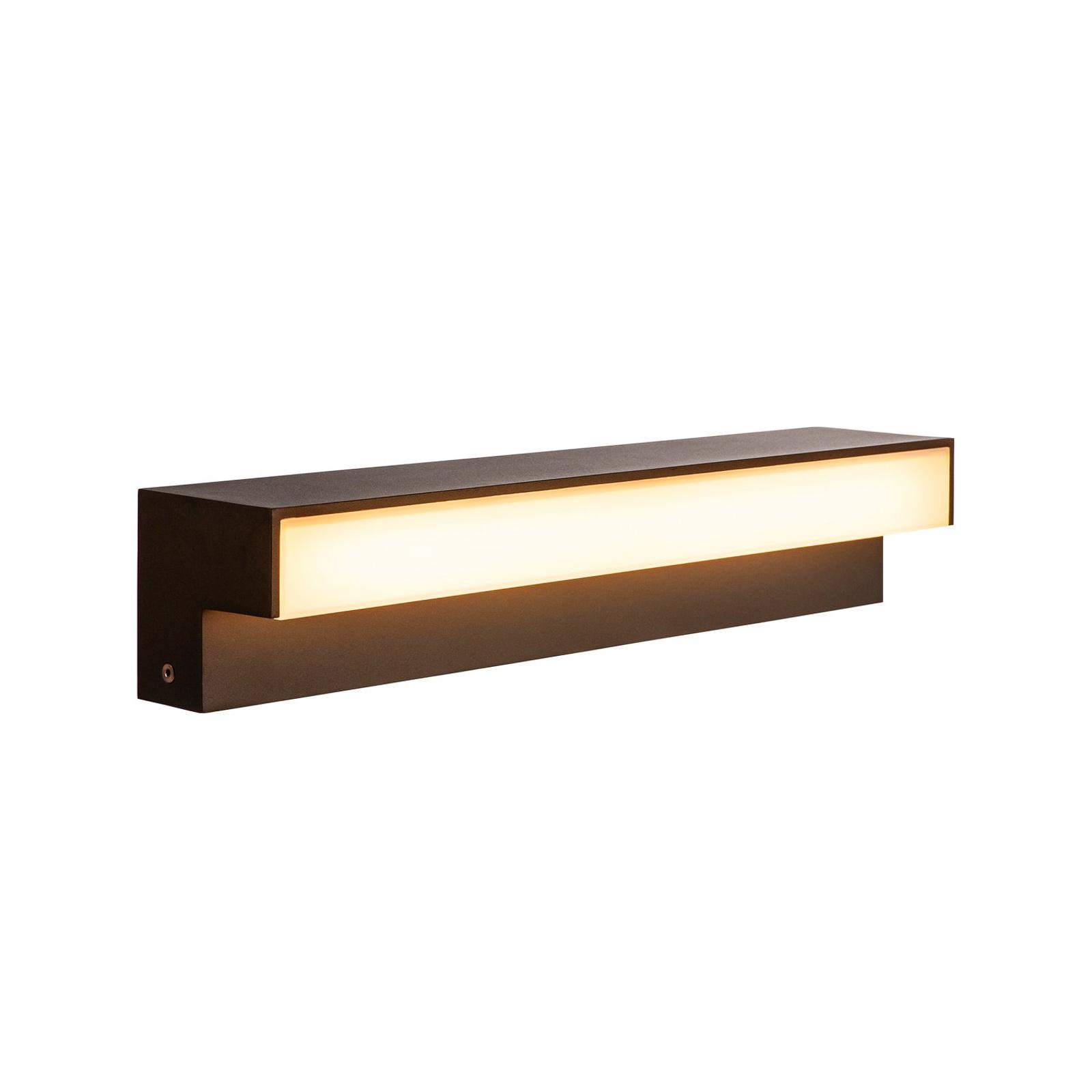 SLV L-Line Out LED-Sockelleuchte CCT, Höhe 10 cm