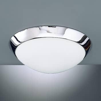 Plafondlamp Katrin IP44, chroom