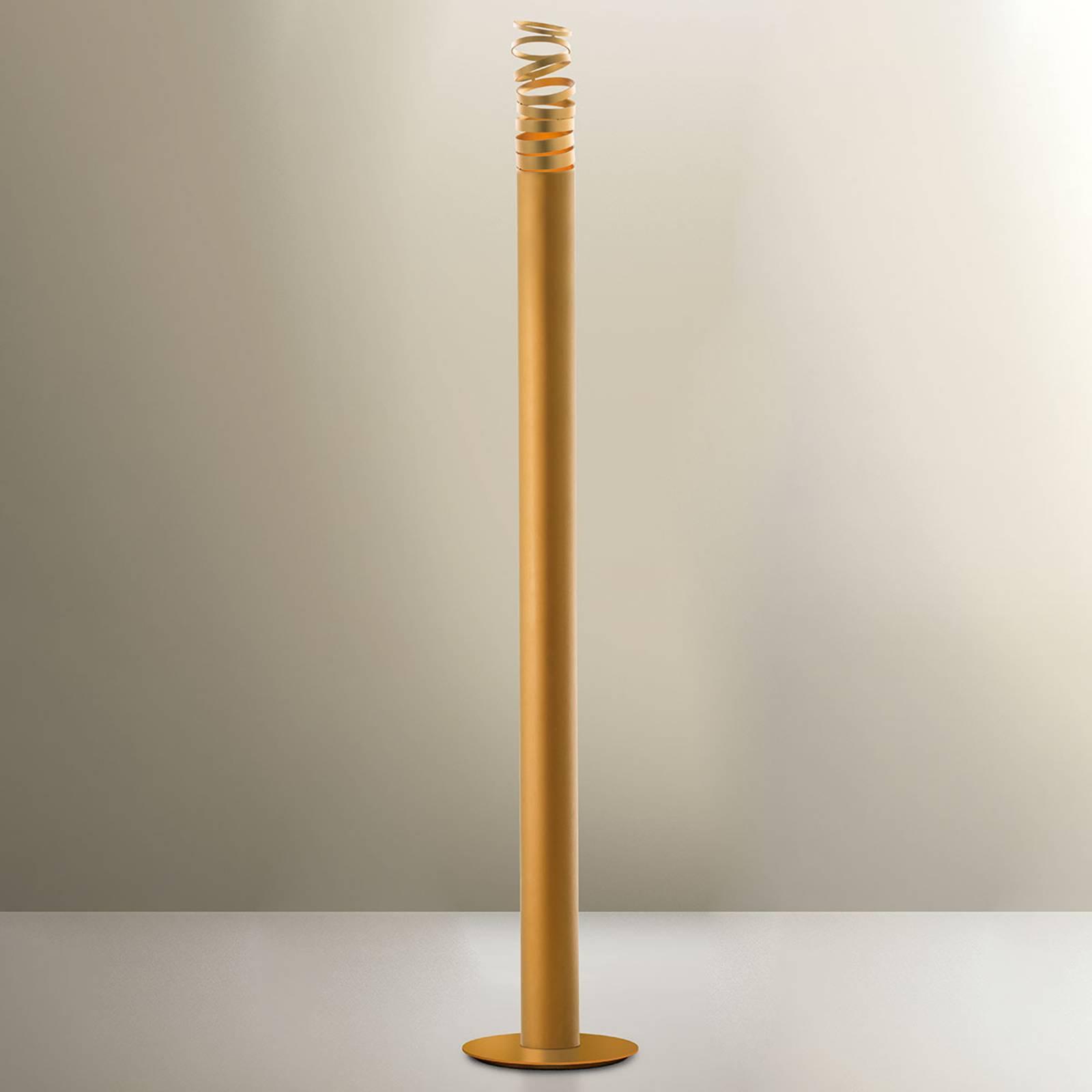 Artemide Decomposé LED-Stehleuchte gold