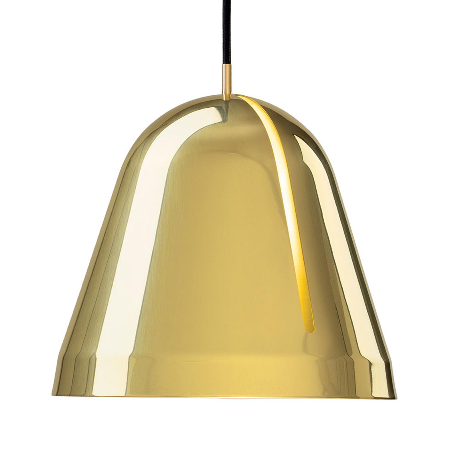 Nyta Tilt Brass suspension, câble en tissu 3m
