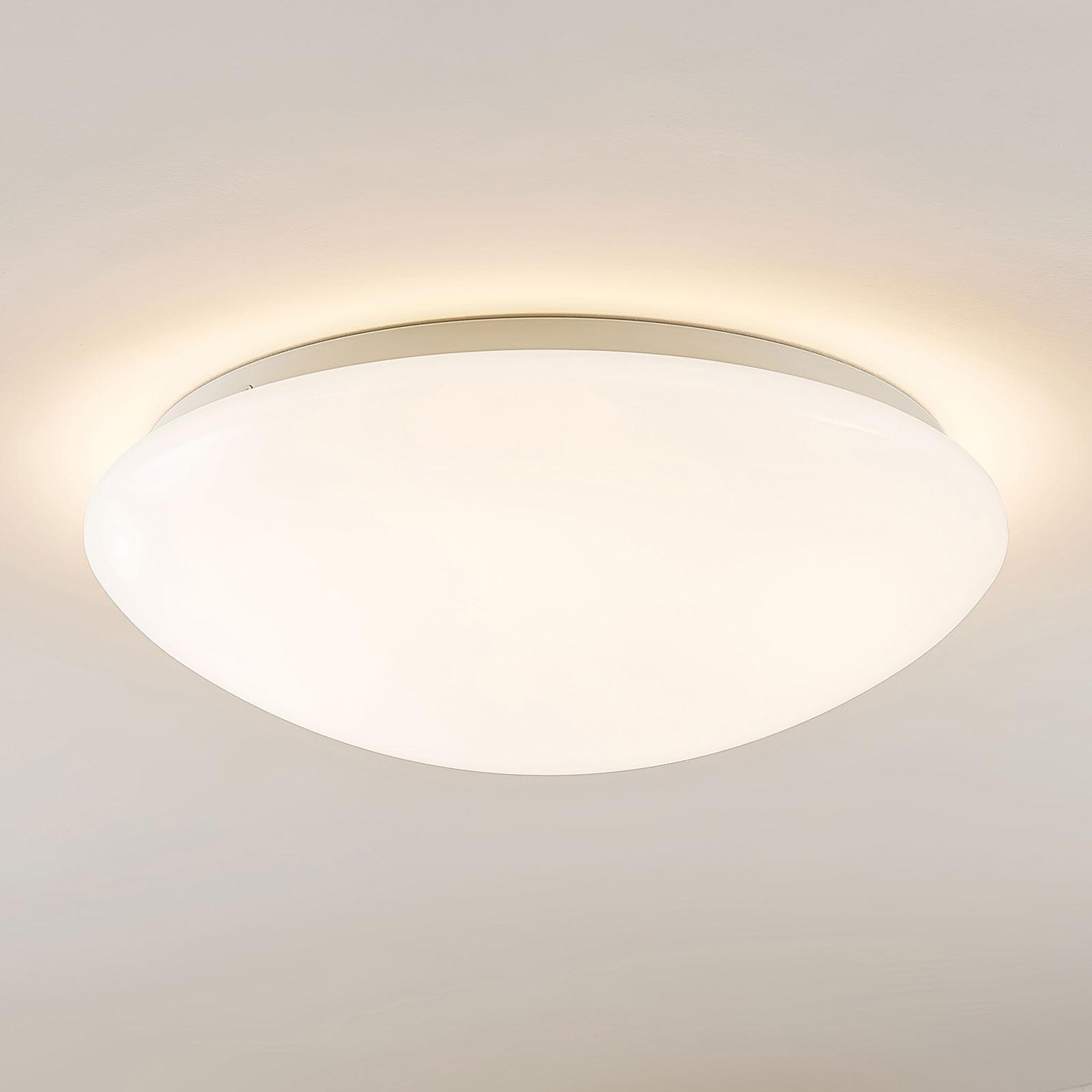 Arcchio Younes LED-taklampe, hvit, rund, 40 cm
