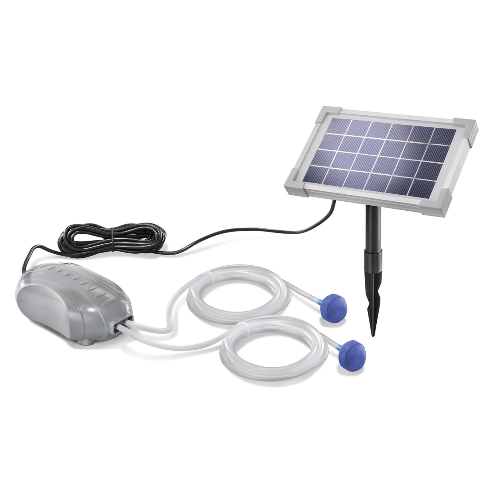 Duo Air – solarny napowietrzacz stawu