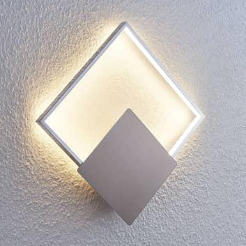 LED-Wandlampe Anays, eckig, 32 cm