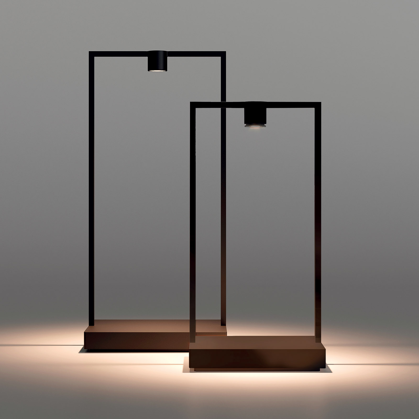 Artemide Curiosity LED-Tischleuchte, Höhe 36 cm