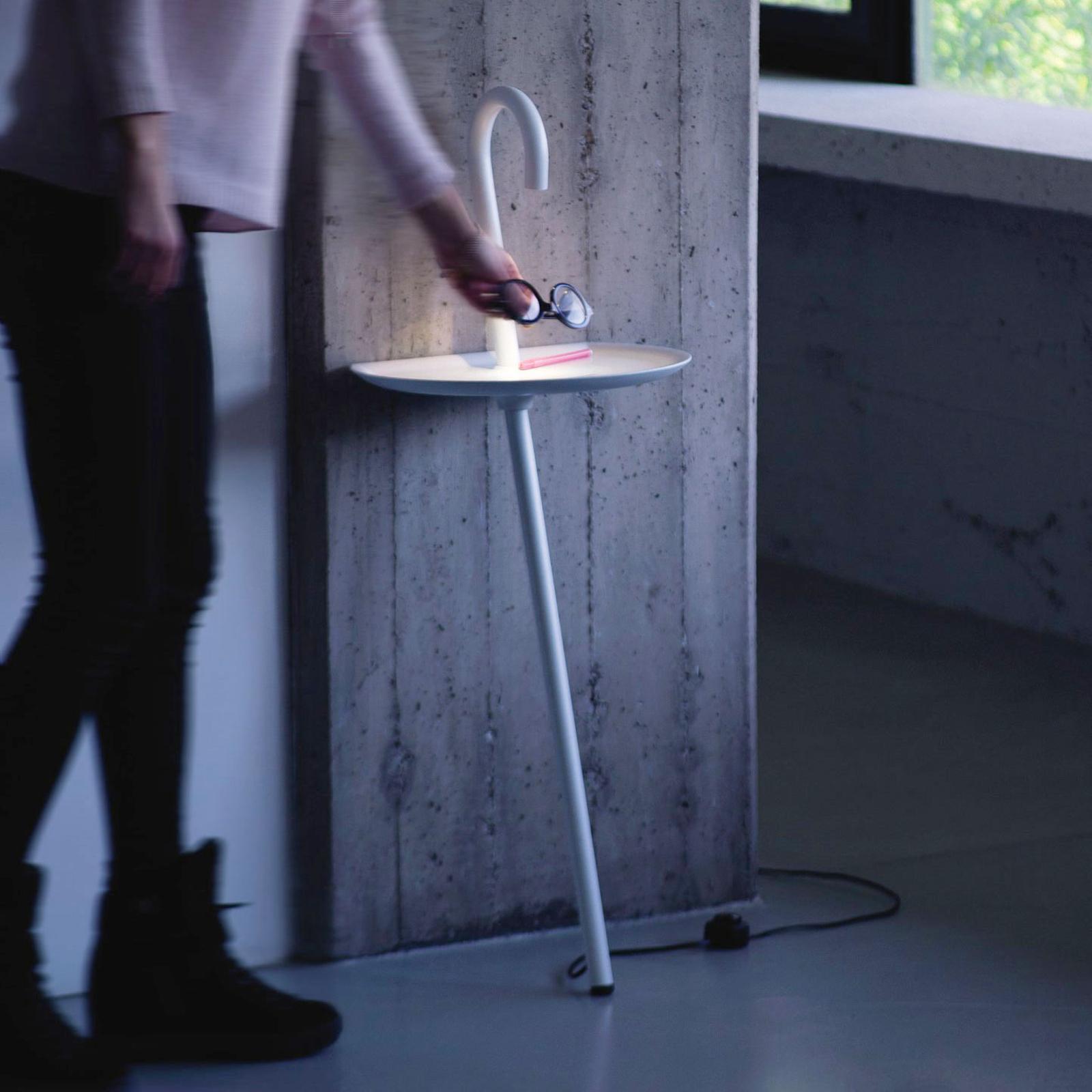 Martinelli Luce Clochard LED-designerlampe, hvid