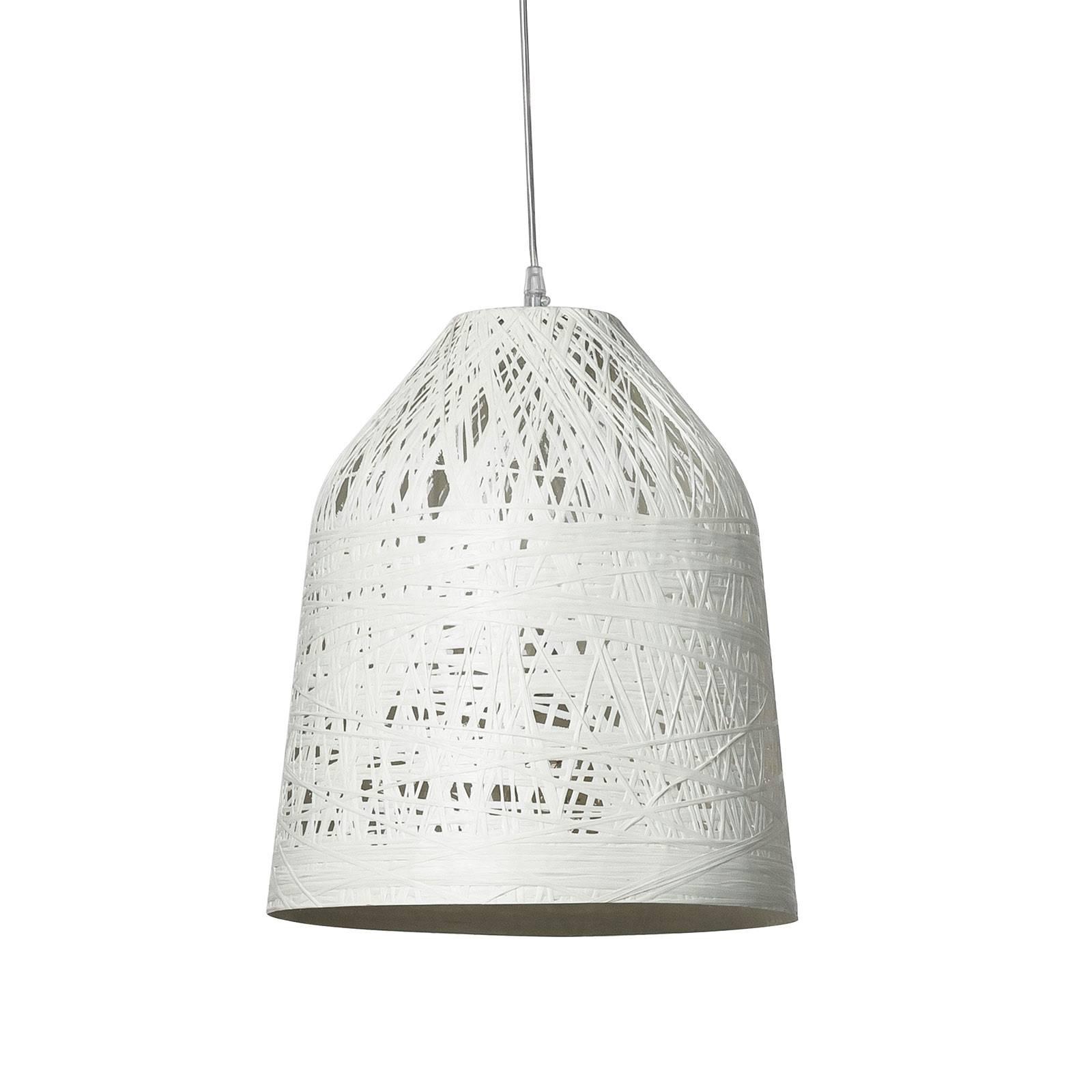 Karman Black Out lampa wisząca, Ø 35 cm, biała
