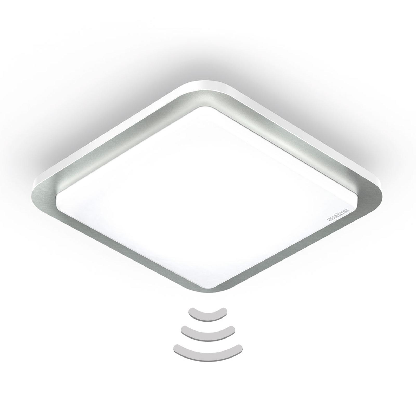 STEINEL RS D2 V3 LED-Deckenlampe stahl gebürstet
