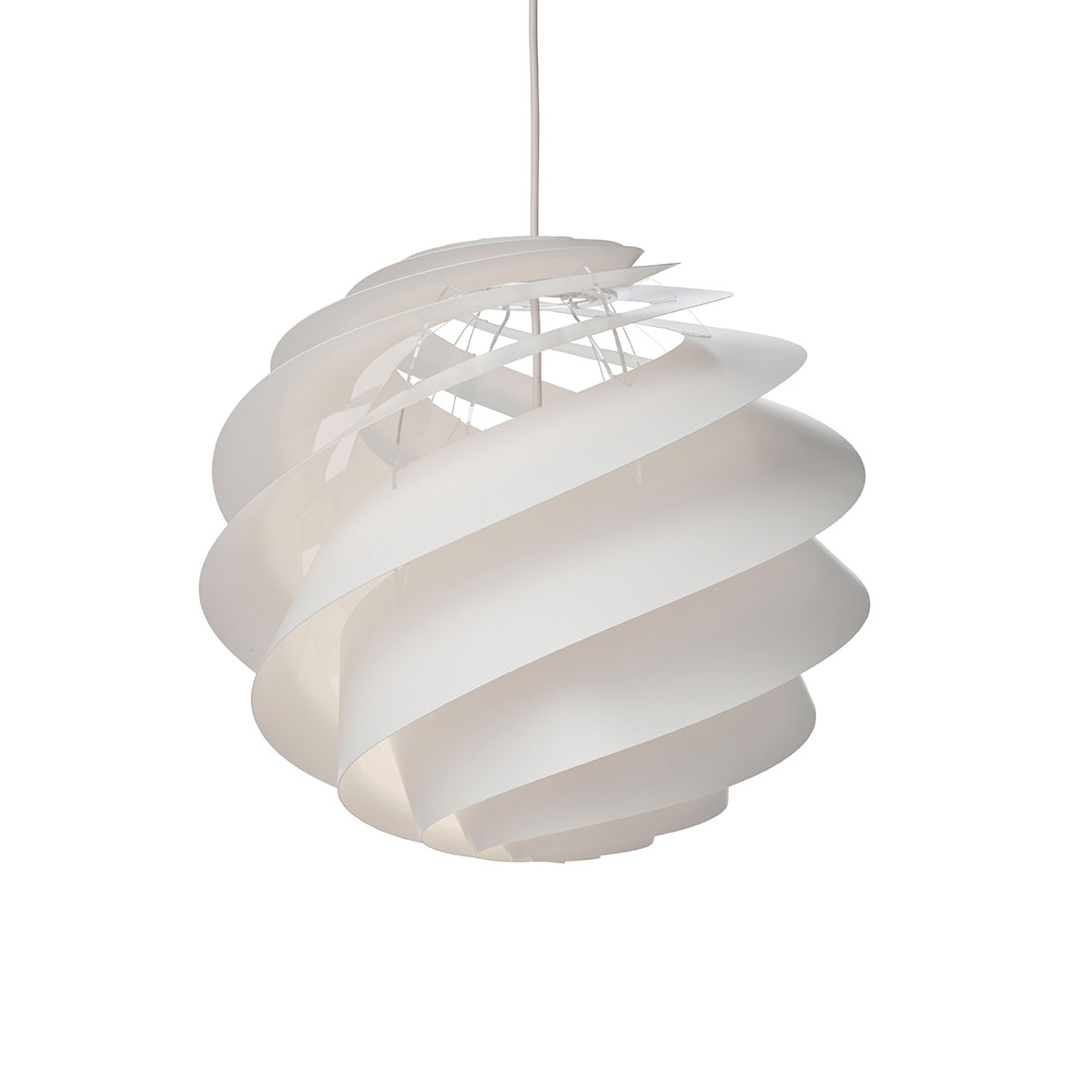 LE KLINT Swirl 3 Medium - Hängeleuchte in Weiß