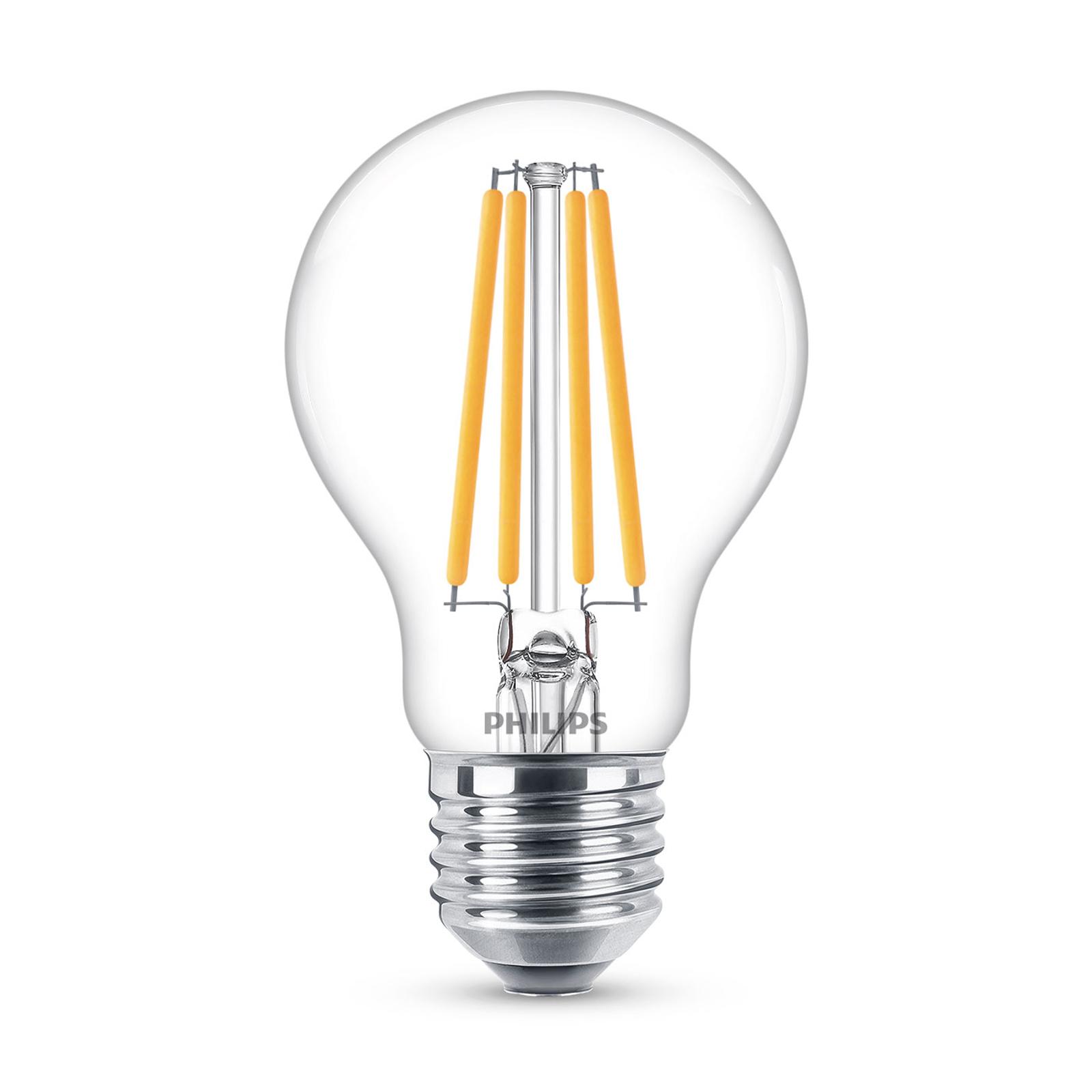 Philips Classic LED-Lampe E27 A60 10,5W 4.000K