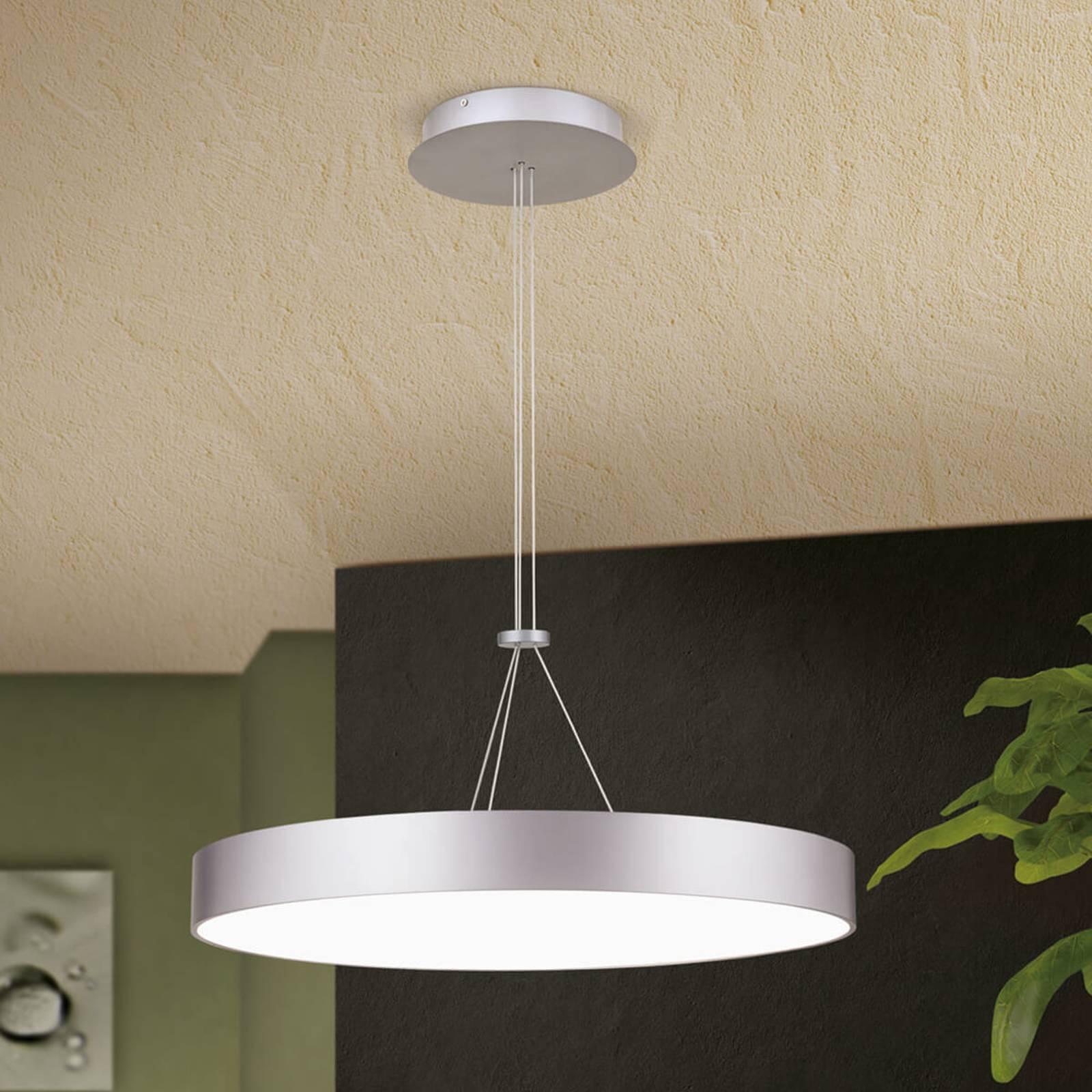 Okrągła lampa wisząca LED Egilo, ściemniana