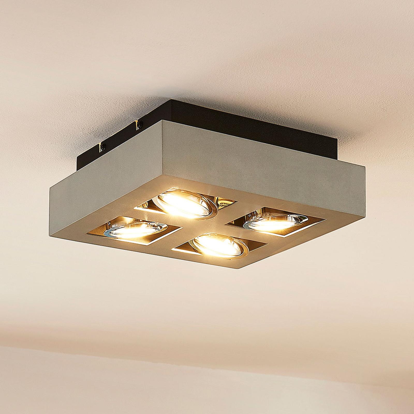 GU10-spot Vince med LED-pærer