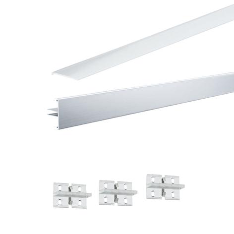 Paulmann Function Duo -profiilisarja, alumiini