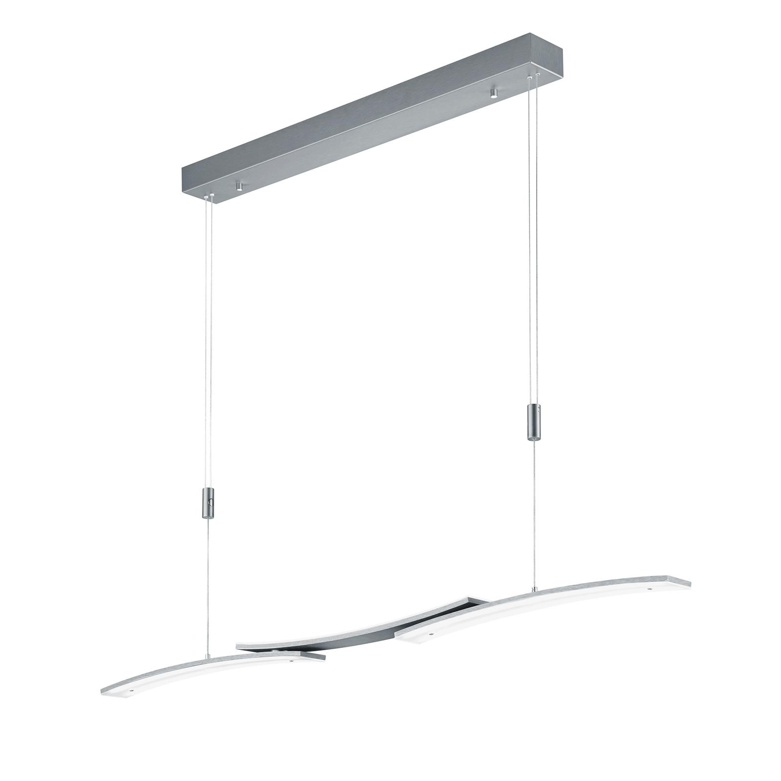 BANKAMP 2138/3-39 LED-Hängeleuchte, anthrazit matt
