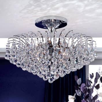 Lámpara de techo brillante LENNARDA, acero cromado