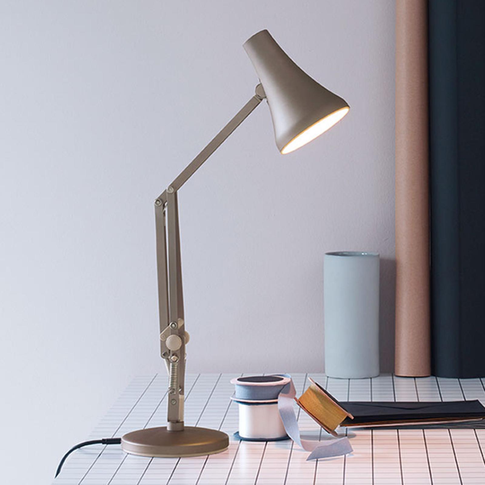 Anglepoise 90 Mini Mini LED-Tischlampe silber