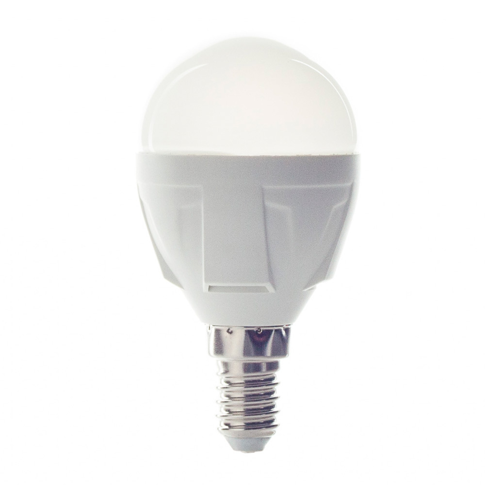 Bombilla LED E14 6W 830 gota blanco cálido