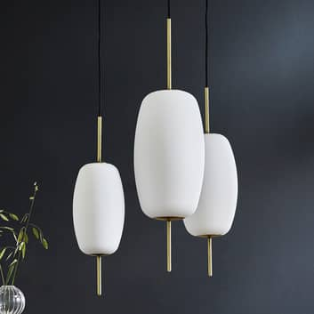 FRANDSEN Silk lámpara colgante de vidrio