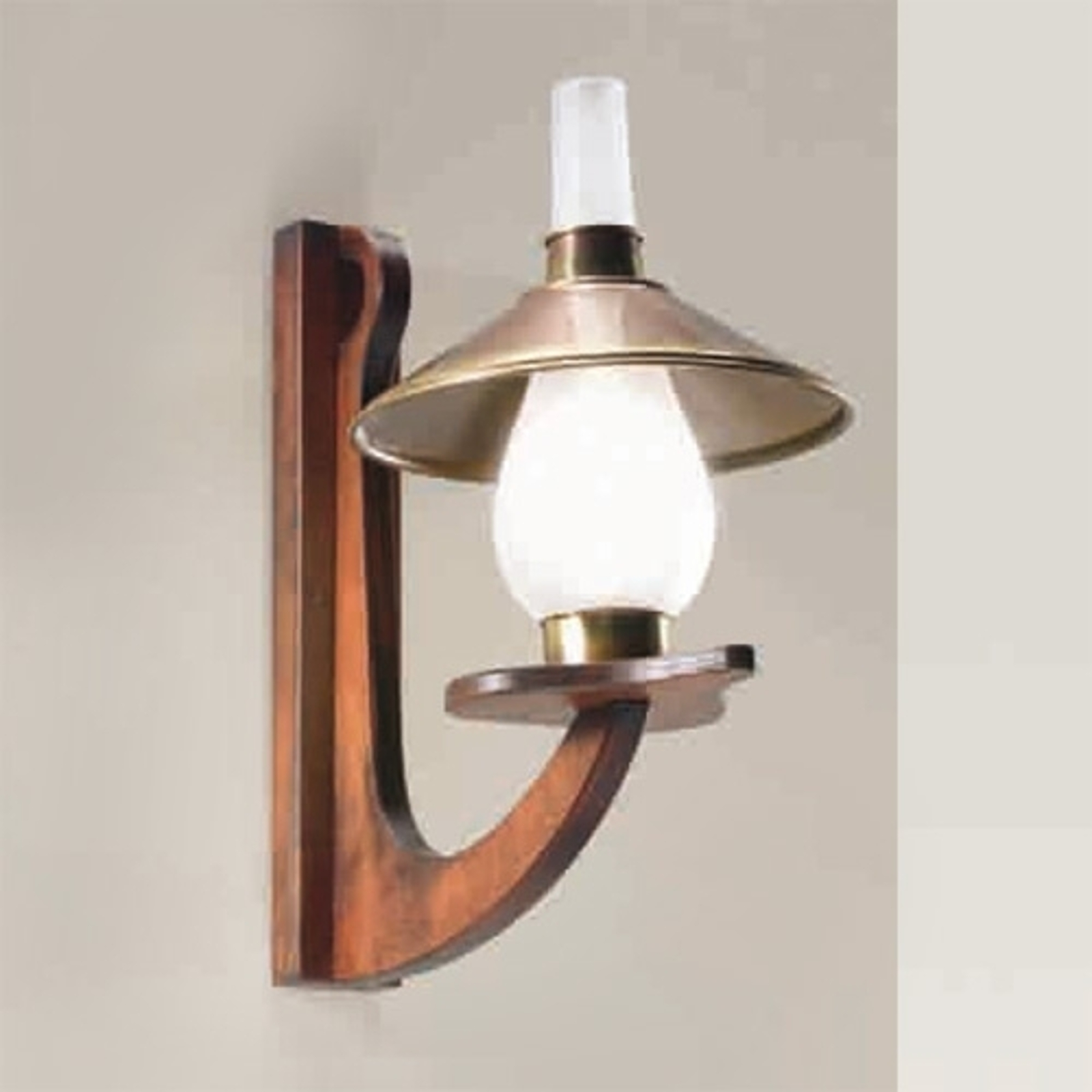 1-punktowa lampa ścienna Marea
