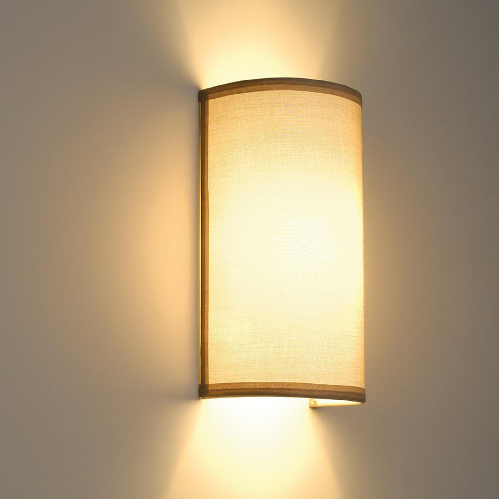 Lampa ścienna SOPRANA dająca łagodne światło