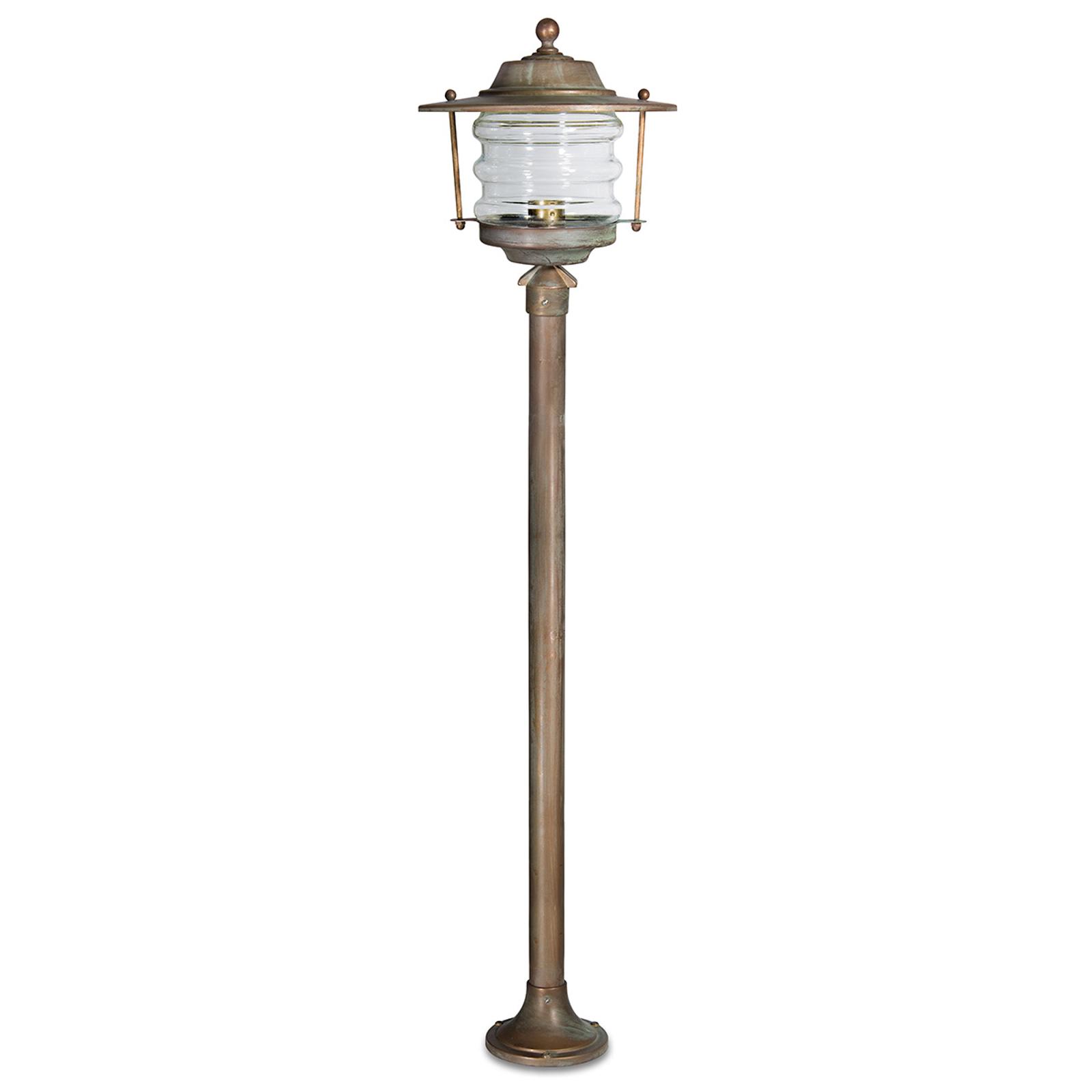 Stylowy słupek oświetleniowy ADESSORA, latarnia
