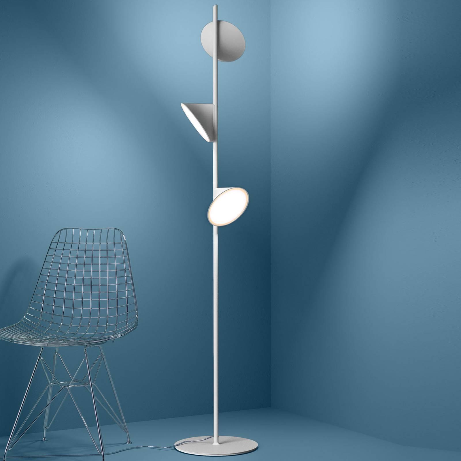 Axolight Orchid lampadaire LED, blanc