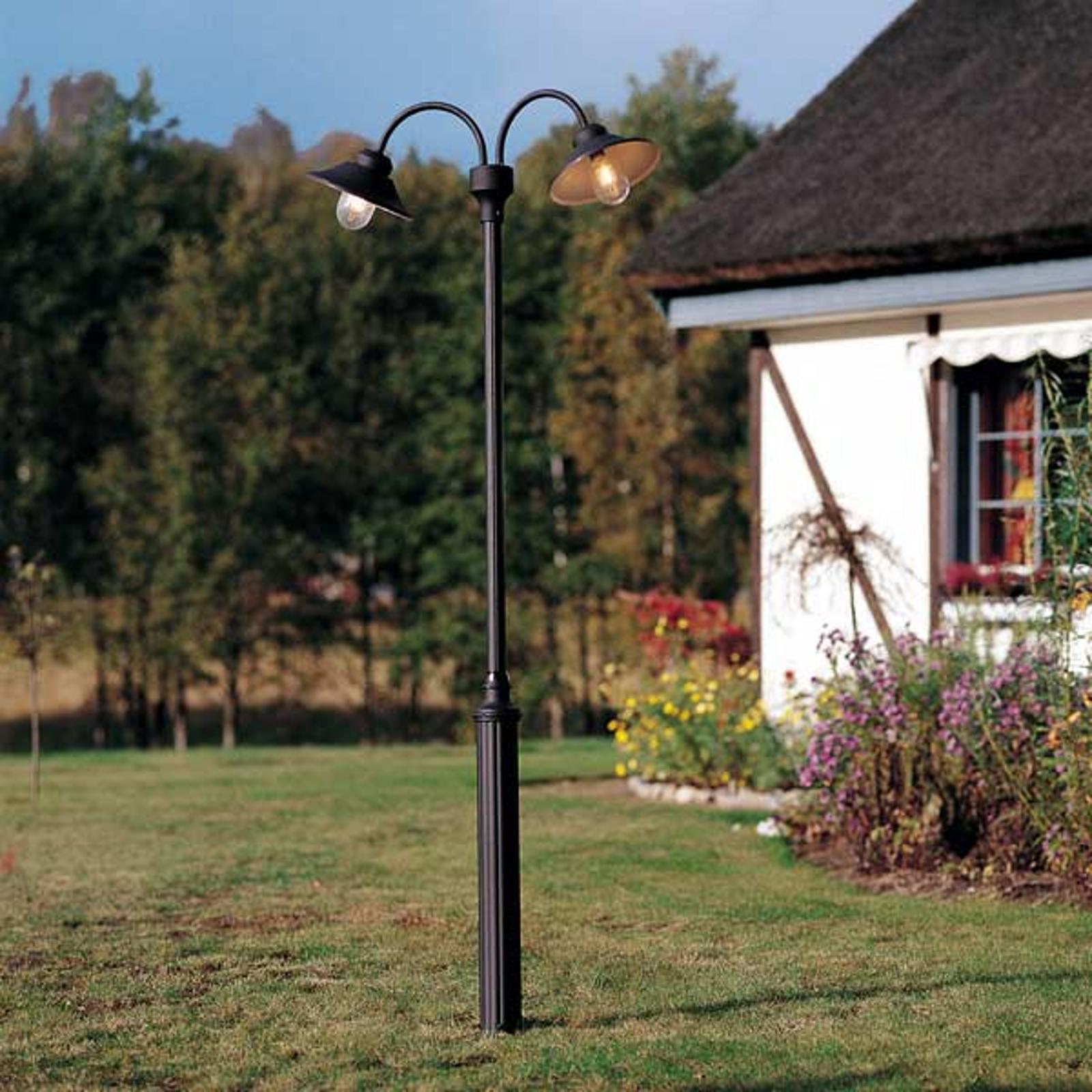 2-punktowa latarnia VEGA, czarny matowy