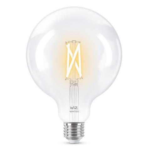 WiZ E27 LED Globe Filament klar 6,5W 2.200-5.500K