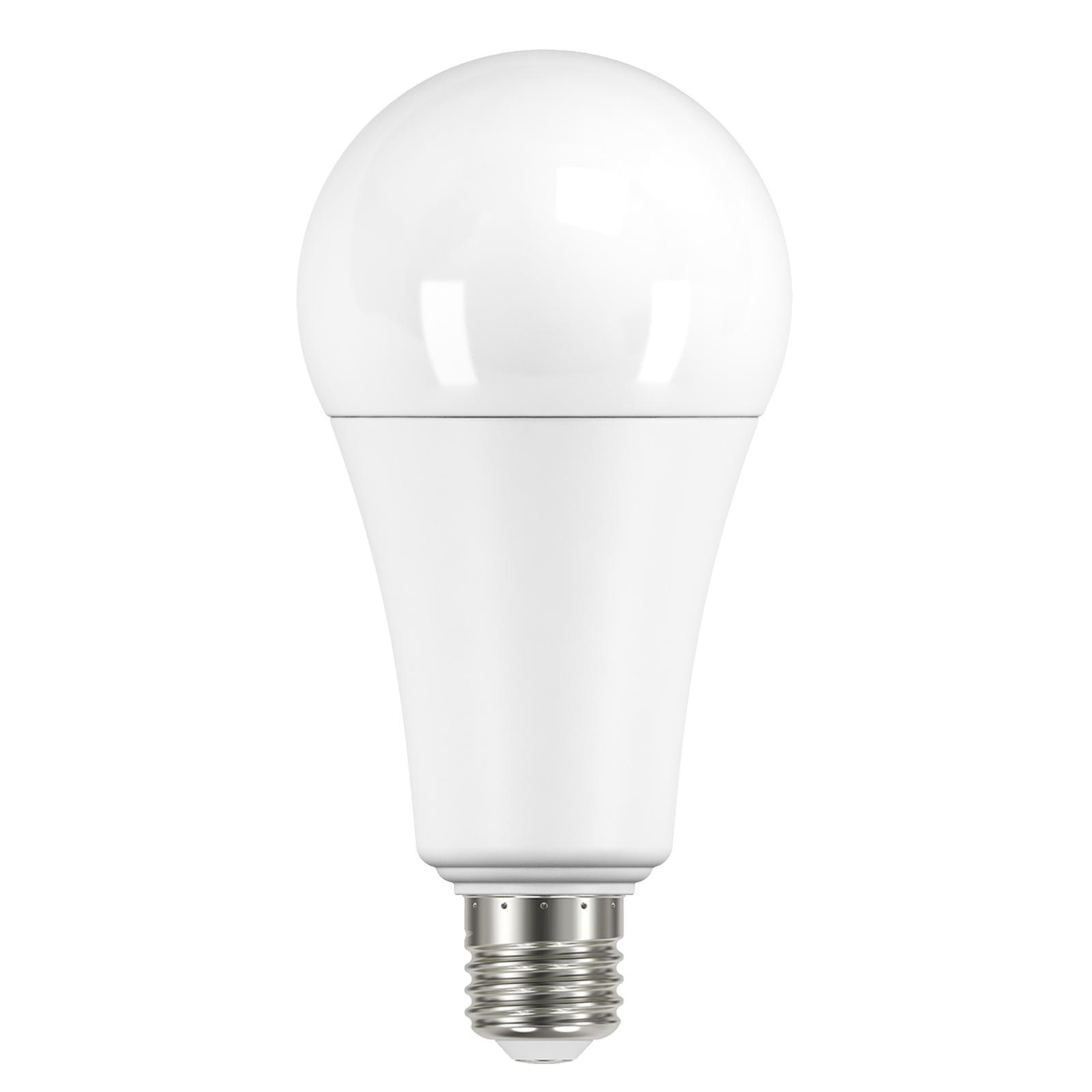 LED E27 ToLED A60 20W opale, bianco caldo