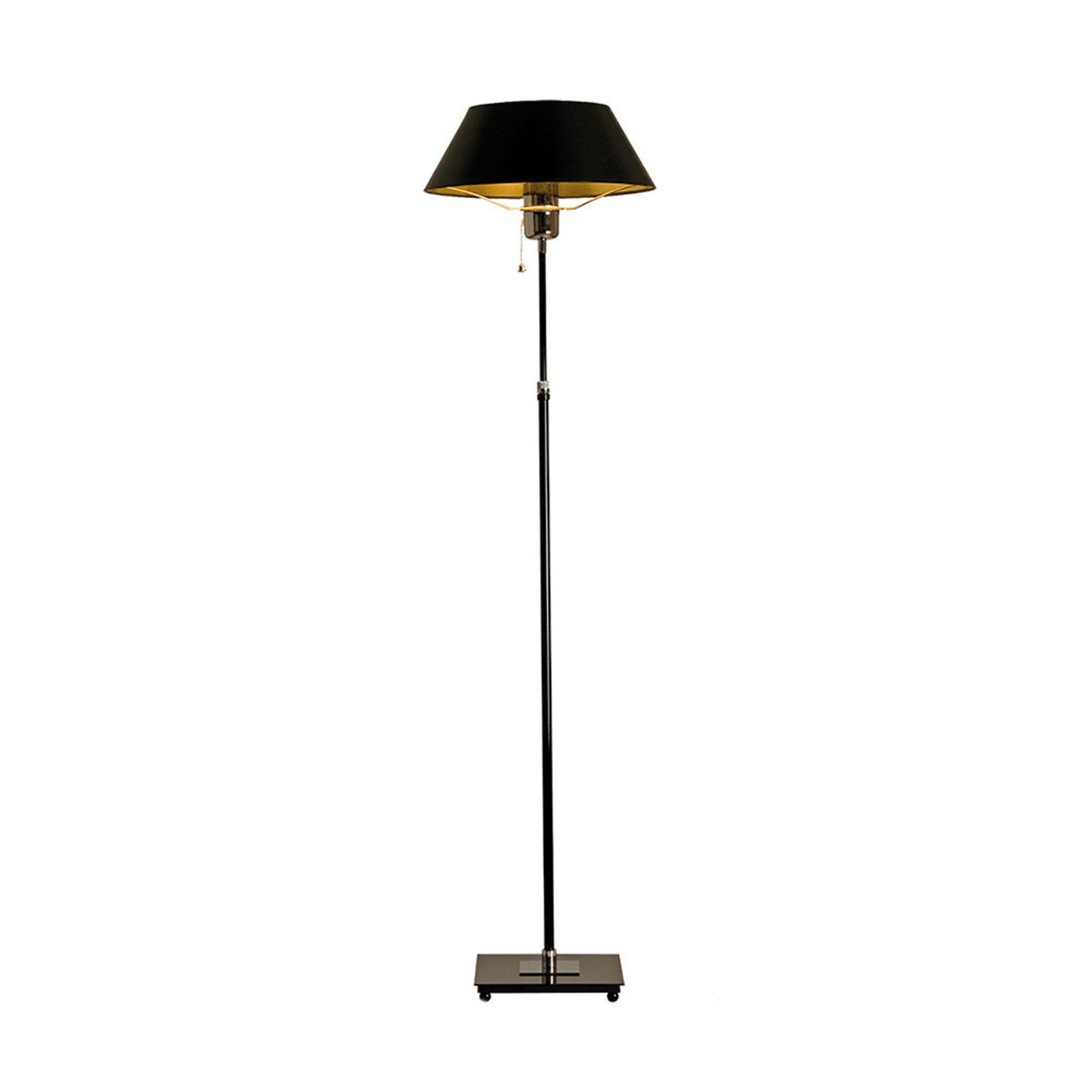Menzel Antos AF6125 lampa podłogowa, klosz czarny
